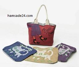 تولید کیف دخترانه ( تولیدکننده و تولیدی کیف مدرسه ای و دستی )