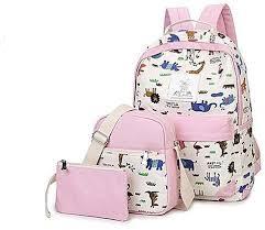 کیف مدرسه دخترانه شیک جدید فانتزی اسپرت