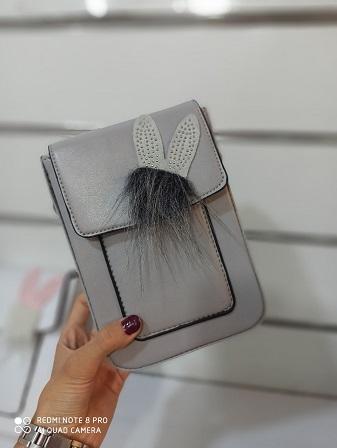 کیف جاموبایلی خرگوشی دخترانه